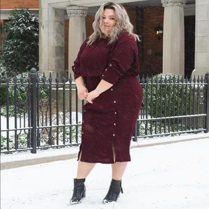 Long Sleeve Crop Top and Skirt Set